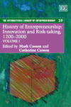 History of Entrepreneurship: Innovation and Risk-taking, 1200–2000