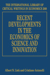 Recent Developments in the Economics of Science and Innovation