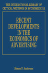 Recent Developments in the Economics of Advertising