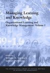 Organizational Learning and Knowledge Management