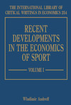 Recent Developments in the Economics of Sport