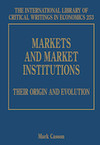 Markets and Market Institutions: Their Origin and Evolution