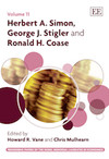 Herbert A. Simon, George J. Stigler and Ronald H. Coase