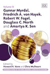 Gunnar Myrdal, Friedrich A. von Hayek, Robert W. Fogel, Douglass C. North and Amartya K. Sen