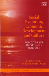 Social Evolution, Economic Development and Culture