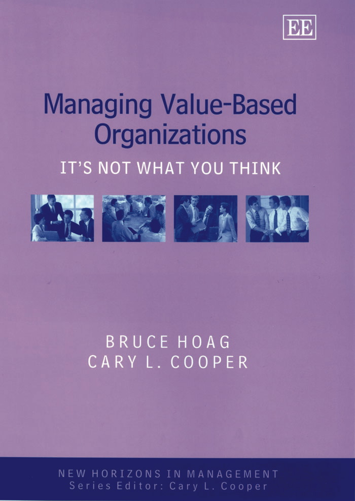 Managing Value-Based Organizations