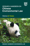 Research Handbook on Chinese Environmental Law