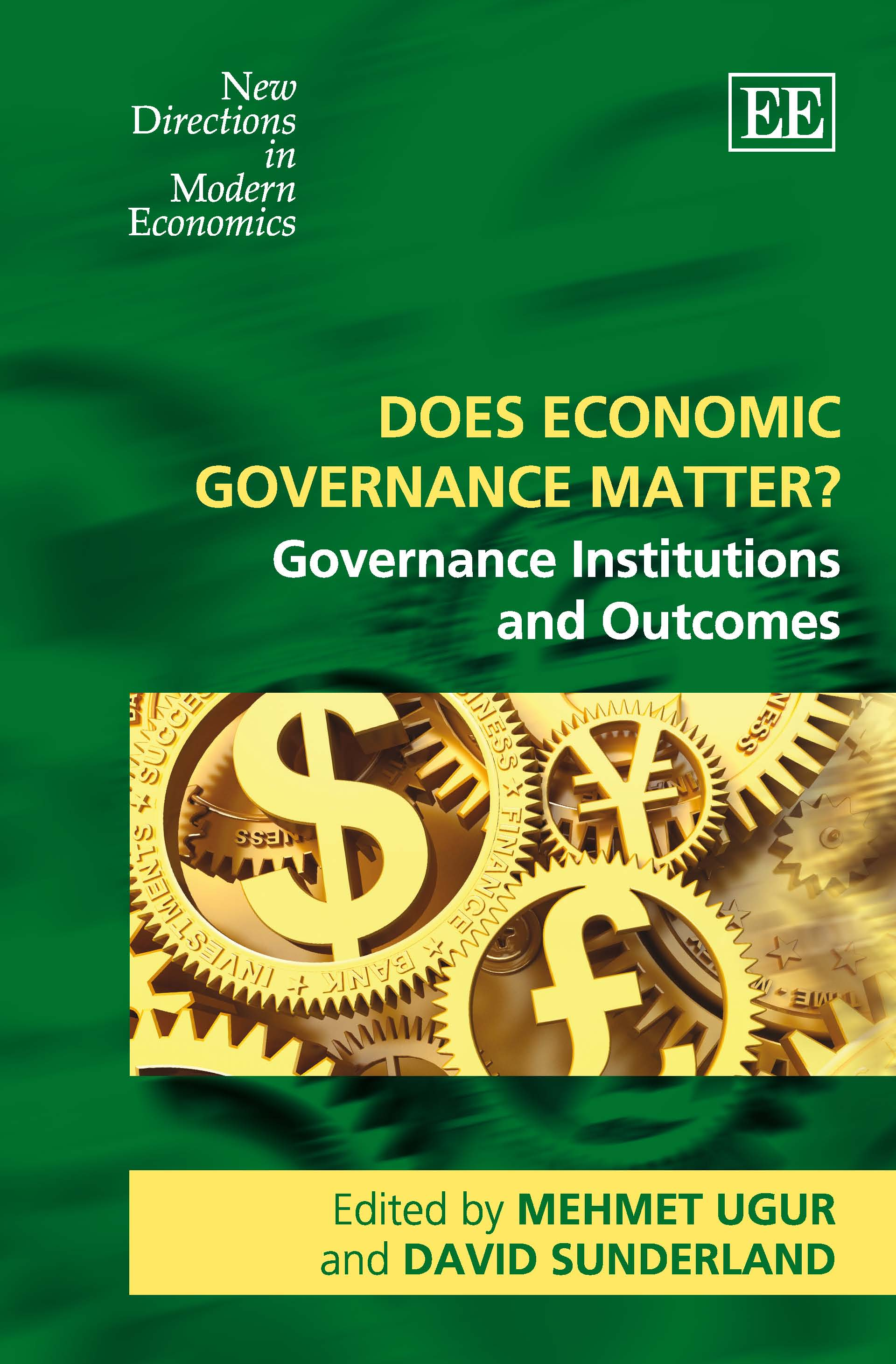 Does Economic Governance Matter?