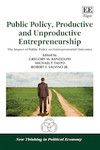 Public Policy, Productive and Unproductive Entrepreneurship