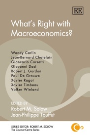 What's Right with Macroeconomics?