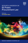 Research Handbook on EU Public Procurement Law