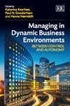 Managing in Dynamic Business Environments