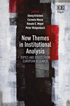 New Themes in Institutional Analysis