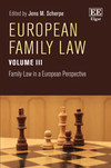 European Family Law Volume III