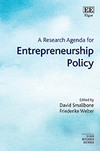 A Research Agenda for Entrepreneurship Policy