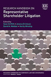 Research Handbook on Representative Shareholder Litigation