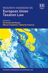 Research Handbook on European Union Taxation Law