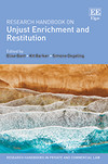 Research Handbook on Unjust Enrichment and Restitution