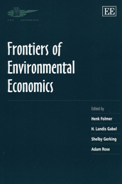 Frontiers of Environmental Economics