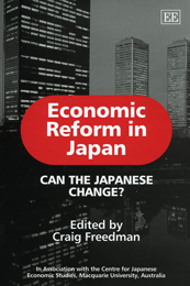 Economic Reform in Japan