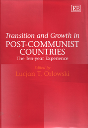 Transition and Growth in Post-Communist Countries