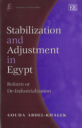 Stabilization and Adjustment in Egypt