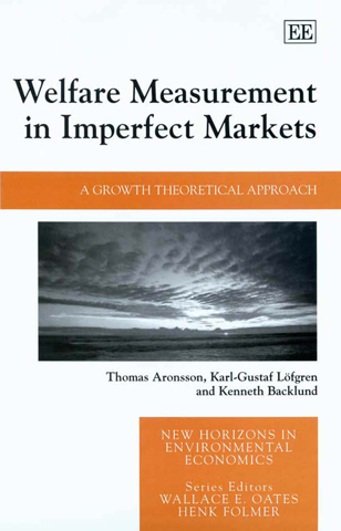 Welfare Measurement in Imperfect Markets