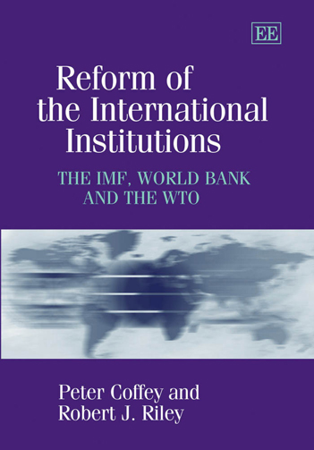 Reform of the International Institutions