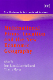 Multinational Firms' Location and the New Economic Geography