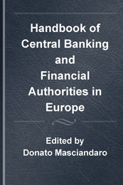 Handbook of Central Banking and Financial Authorities in Europe