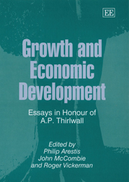 Growth and Economic Development