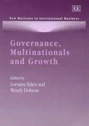Governance, Multinationals and Growth