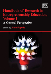 Handbook of Research in Entrepreneurship Education, Volume 1