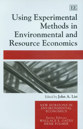 Using Experimental Methods in Environmental and Resource Economics