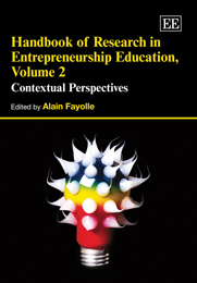 Handbook of Research in Entrepreneurship Education, Volume 2