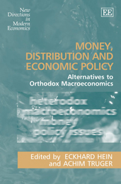 Money, Distribution and Economic Policy