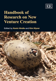 Handbook of Research on New Venture Creation