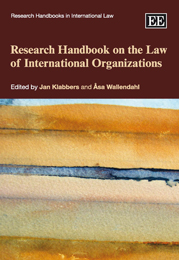 Research Handbook on the Law of International Organizations