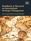 Handbook of Research on International Strategic Management