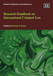 Research Handbook on International Criminal Law