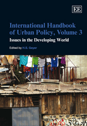 International Handbook of Urban Policy, Volume 3