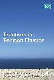 Frontiers in Pension Finance