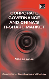 Corporate Governance and China's H-Share Market