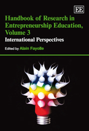 Handbook of Research in Entrepreneurship Education, Volume 3