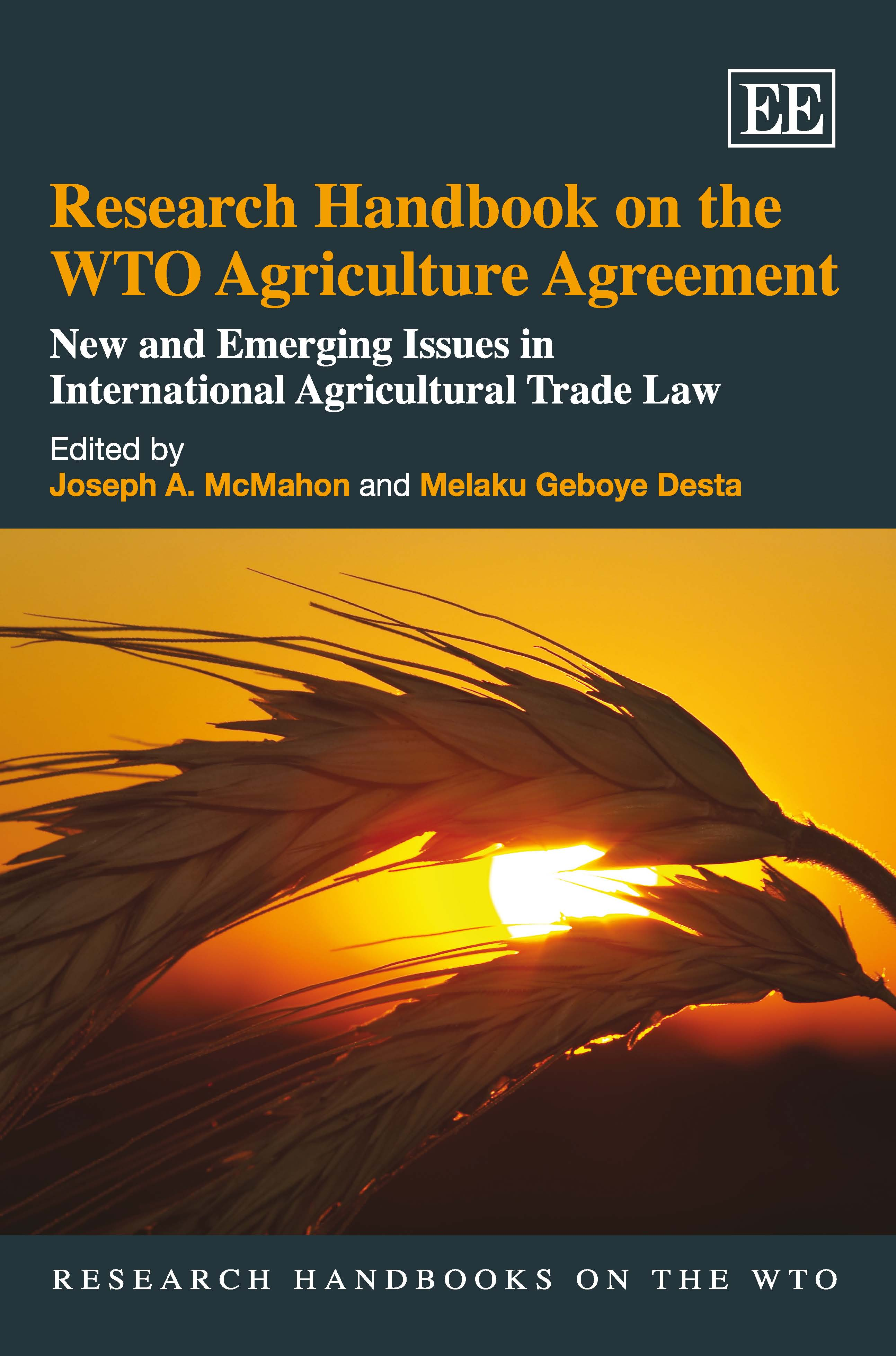 Research Handbook on the WTO Agriculture Agreement