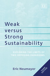 Weak versus Strong Sustainability