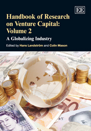 Handbook of Research on Venture Capital: Volume 2