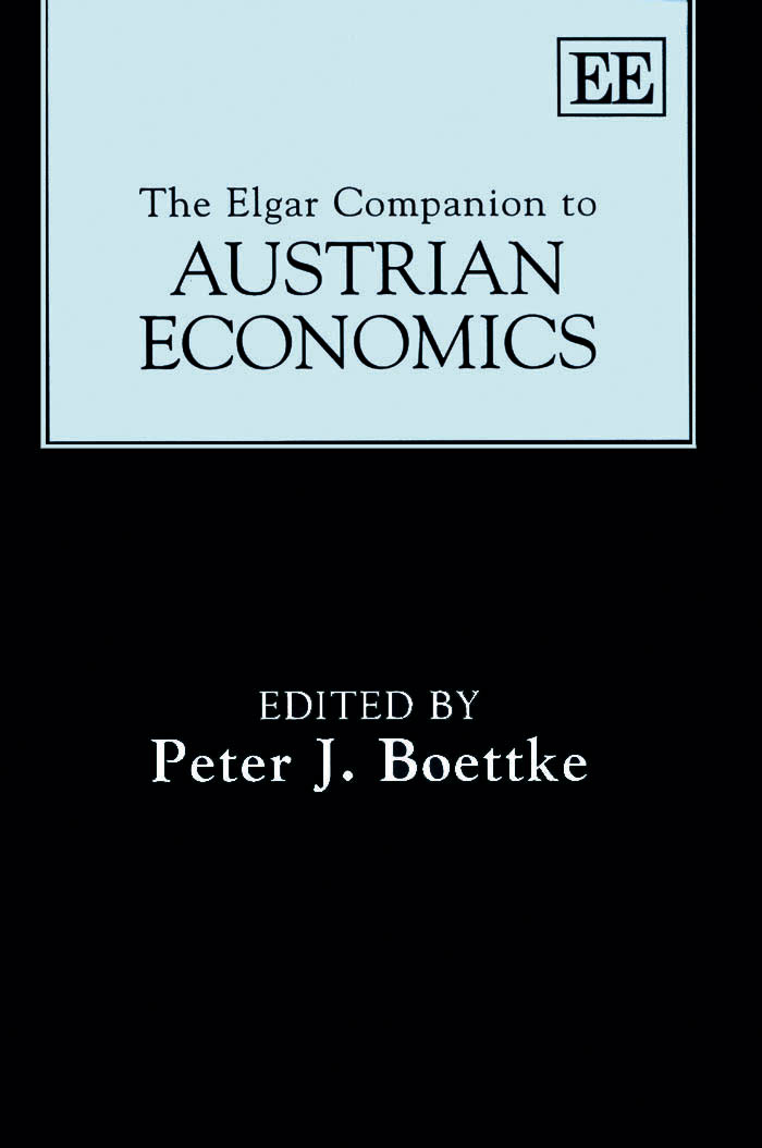 The Elgar Companion to Austrian Economics