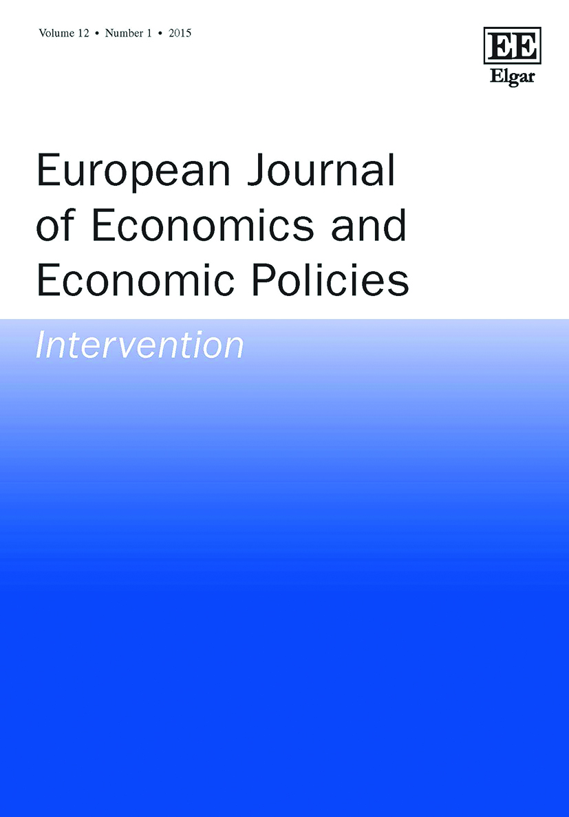 European Journal of Economics and Economic Policies: Intervention