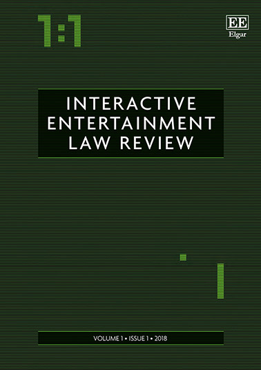 Interactive Entertainment Law Review